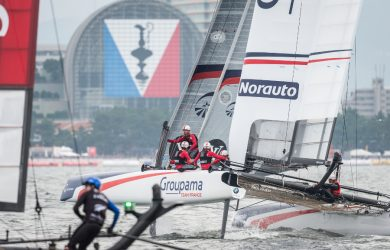 groupama team france, japon, america's cup, 2016, yachting classique, www.yachtingclassique.com