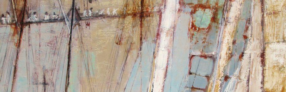 Tabarly, peintre de Marine, carine hayot, salon de la marine, yachting classique, www.yachtingclassique.com