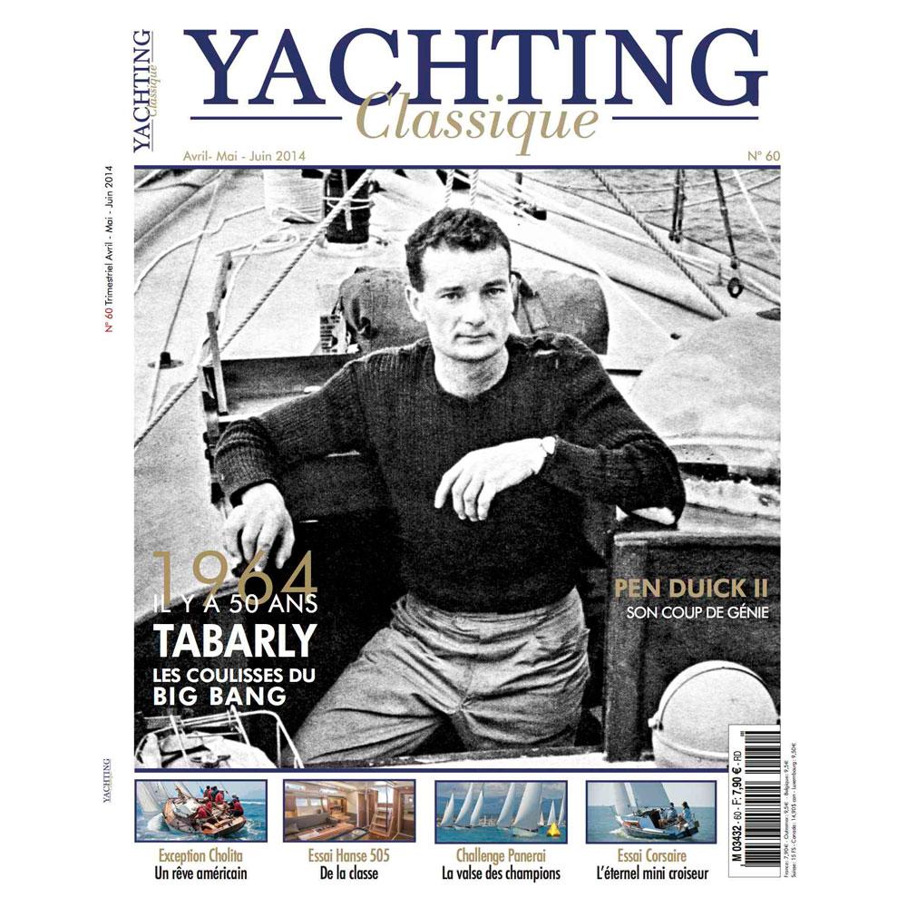 couverture magazine yachting classique 60