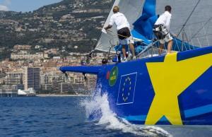 ESIMIT EUROPA 2, Sail n: SLO1001, Owner: IGOR SIMCIC, Group 0 (IRC >18.05mt) Christophe Courau www.yachtingclassique.com, giraglia 2014