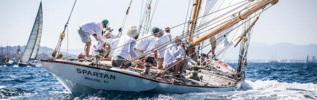 Spartan yacht, Gstaad Yacht Club Centenary Trophy, Voiles de saint-Tropez, yachting classique, www.yachtingclassique.com