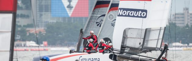 groupama team france, japon, america's cup, 2016, yachting classique, www.yachtingclassique.com