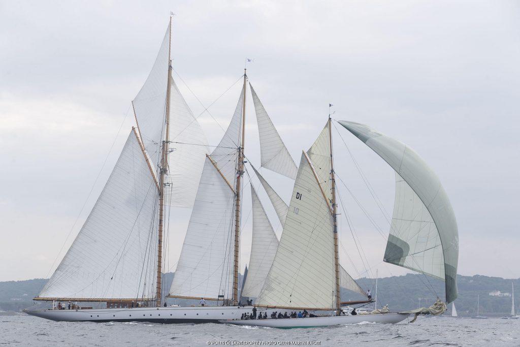 Les Classiques aux Voiles de Saint-Tropez 2017, Yachting classique, www.yachtingclassique.com