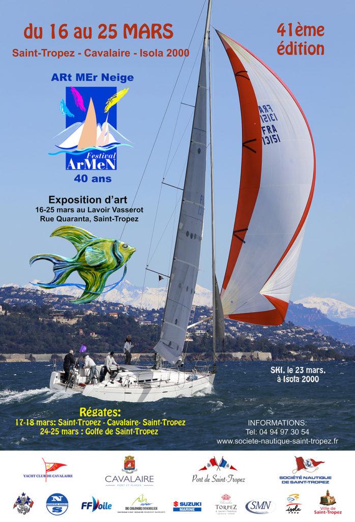 Festival Armen, Saint-Tropez, Mer et ski, 2018, yachting classique, www.yachtingclassique.com