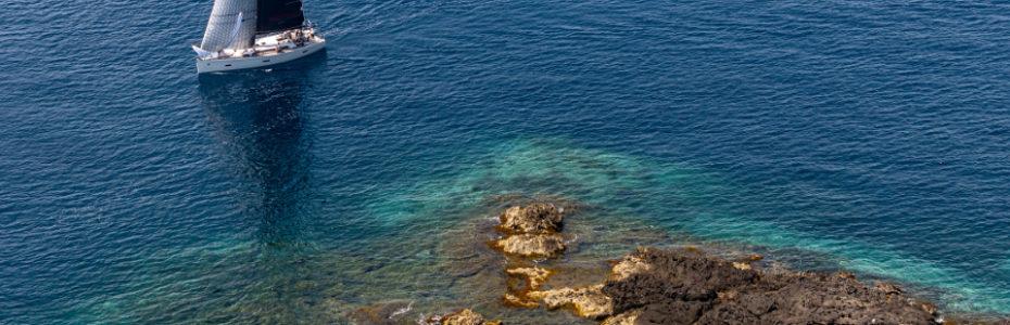 Grand Soleil, eau turquoise méditerranee, yachting classique, Coupe Grand Soleil 2018