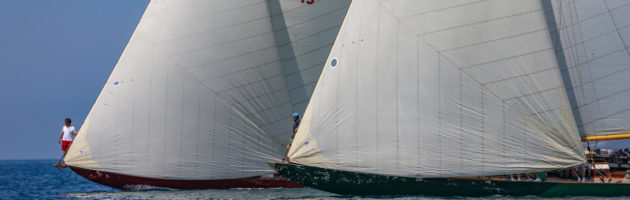 Chips yacht, Olympian Yacht, P Class yacht, calanques Classique 2018, Yachting Classique, Bandol, Marseille