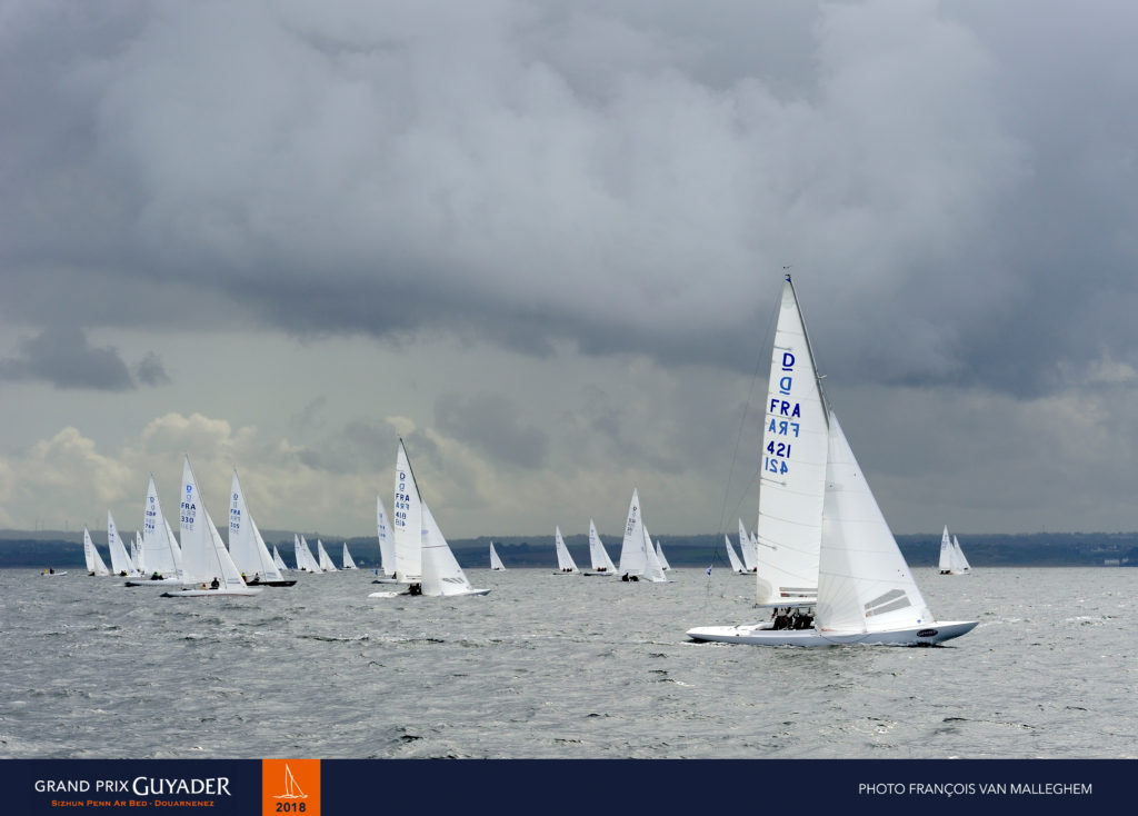 Dragon, Grand prix Guyader 2018, Douarnenez, yachting classique