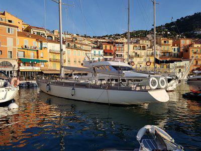 dame Pattie, America's cup 1967, yachting classique, vente aux enchères, www.yachtingclassique.com