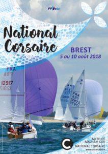 National Corsaire, myth of Malham. Corsaire, voilier corsaire, Brest, Camaret, 2018, yachting classique