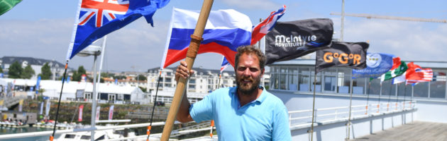 rame, Mark Slats, Golden Globe race 2018, Yachting classique
