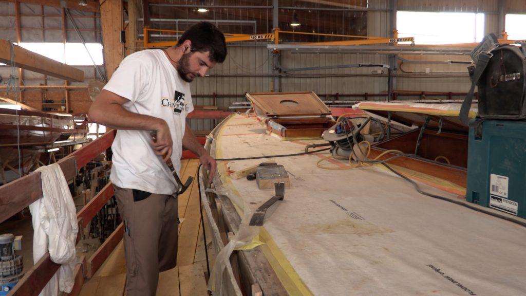 penduick, restauration, chantier du Guip, Brest, yachting Classique, tabarly