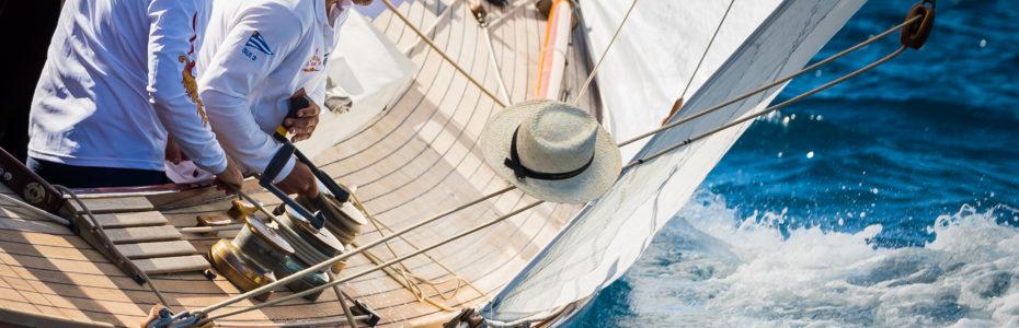 Carron II, Yacht Classique, Régates Royales de Cannes 2018, Yachting Classique, Gite