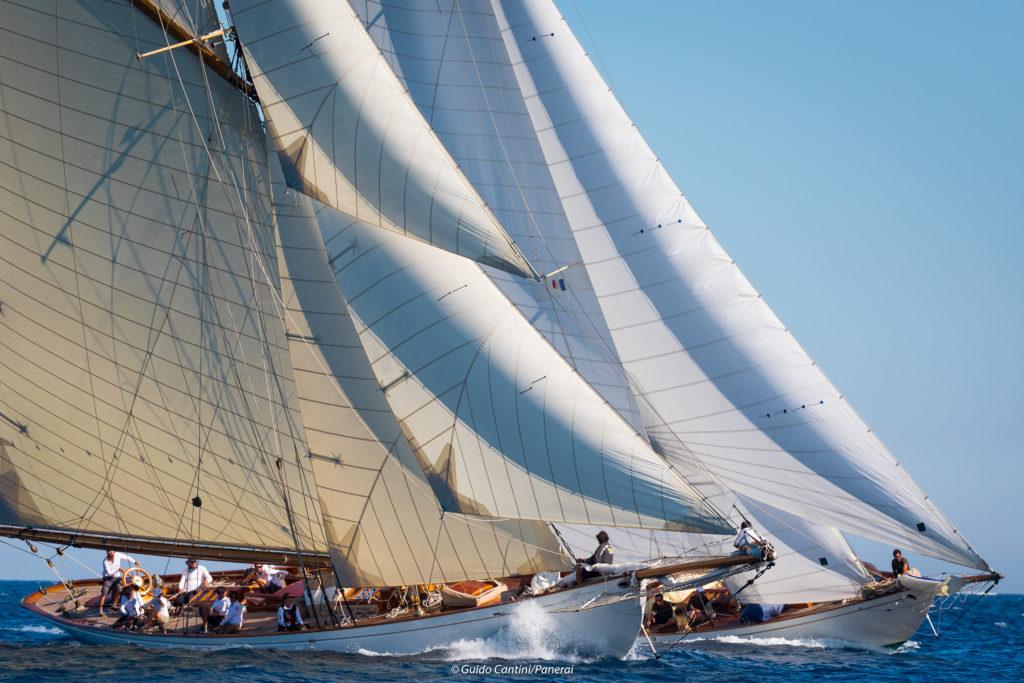 Moonbeam of Fife, Haloween, Classic sailing Boats, voiliers classiques, Régates Royale de Cannes 2018, Yachting ClassiqueCannes 2018,