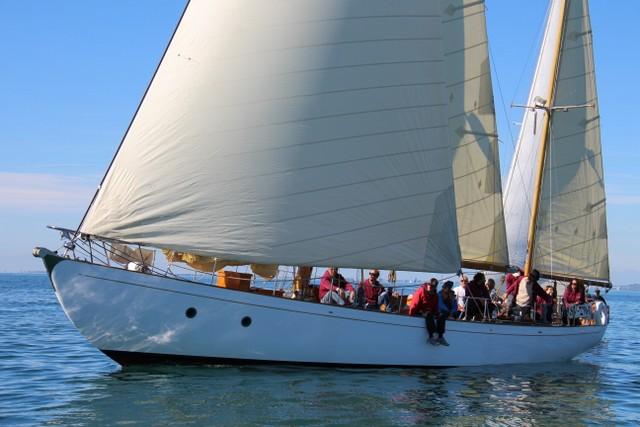 Coch_Y_Bondhu, transat classique 2019. yachting classique