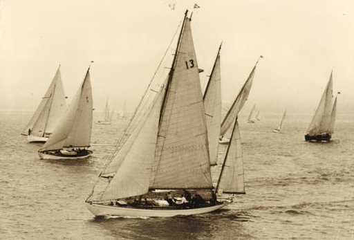 Transatlantic Race, Volier Dorade, yachting classique