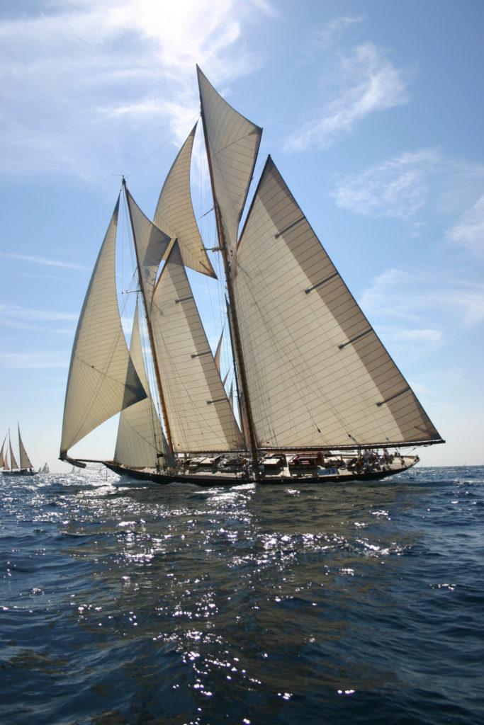 Mariette 1915, voilier classique, transtalantic race, yachting classique