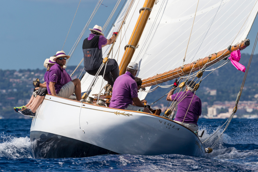 Yacht Classique, Viola, Yacht de l'année 2018, Plan fife, Trophée YACHTING Classique 2018, Yachting Classique