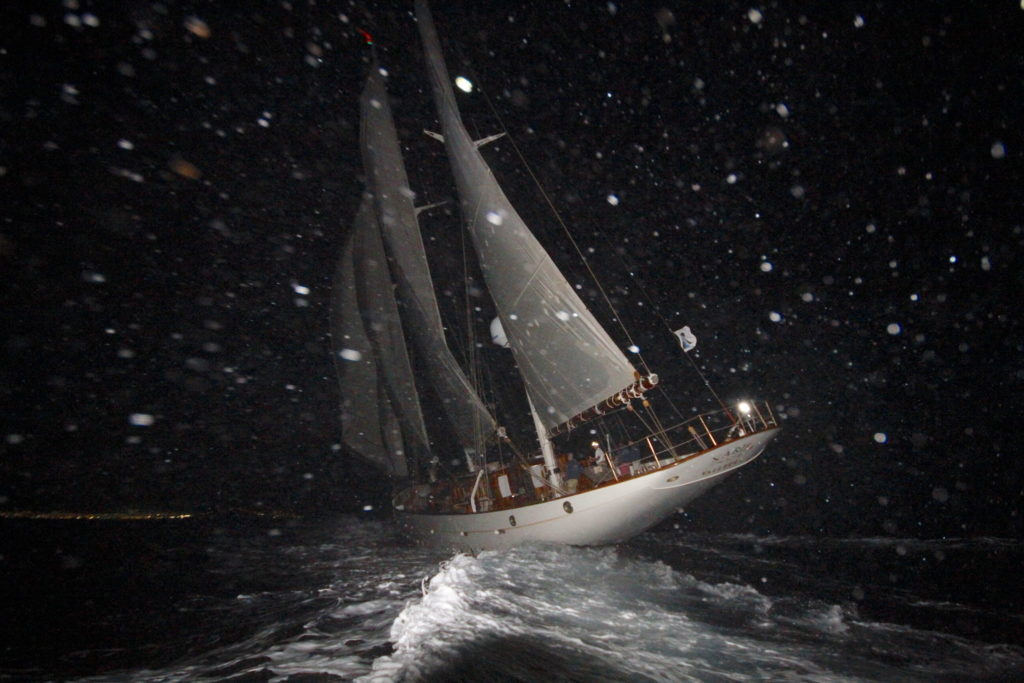 Xafira, goélette 1927, vainqueur temps réel transat classique 2019, yachting classique