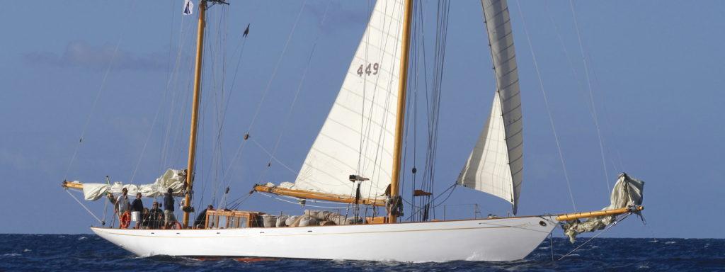Eilean,  5e place, transat classique 2019, yacht classique, panerai, Yachting Classique