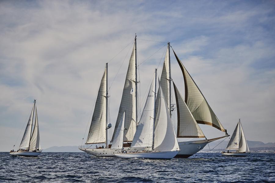 Xafira, goélette trois mats, 1927, voilier classique, panerai Transat Classique, Yachting Classique, 2019