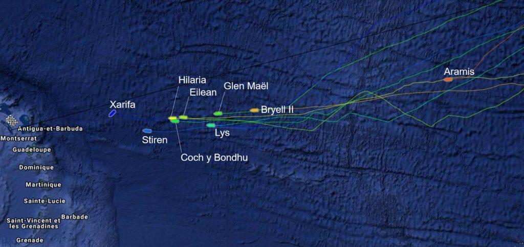 transat classique, cartographie, voiliers classique, Atlantique, traversée de l Atlantique, yachting classique
