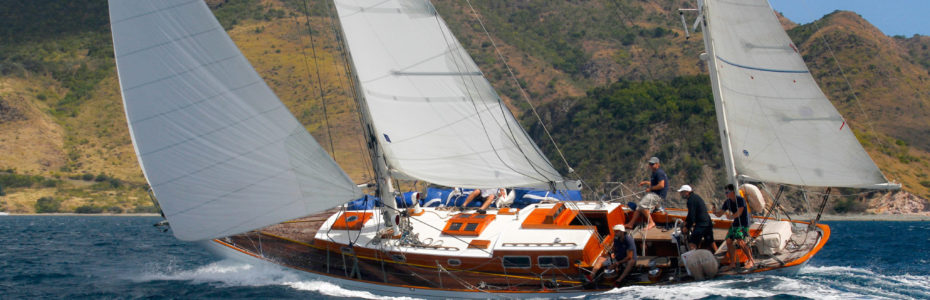 Stiren, voilier classique, deuxième place panerai transat classique 2019, temps réel, yachting classique