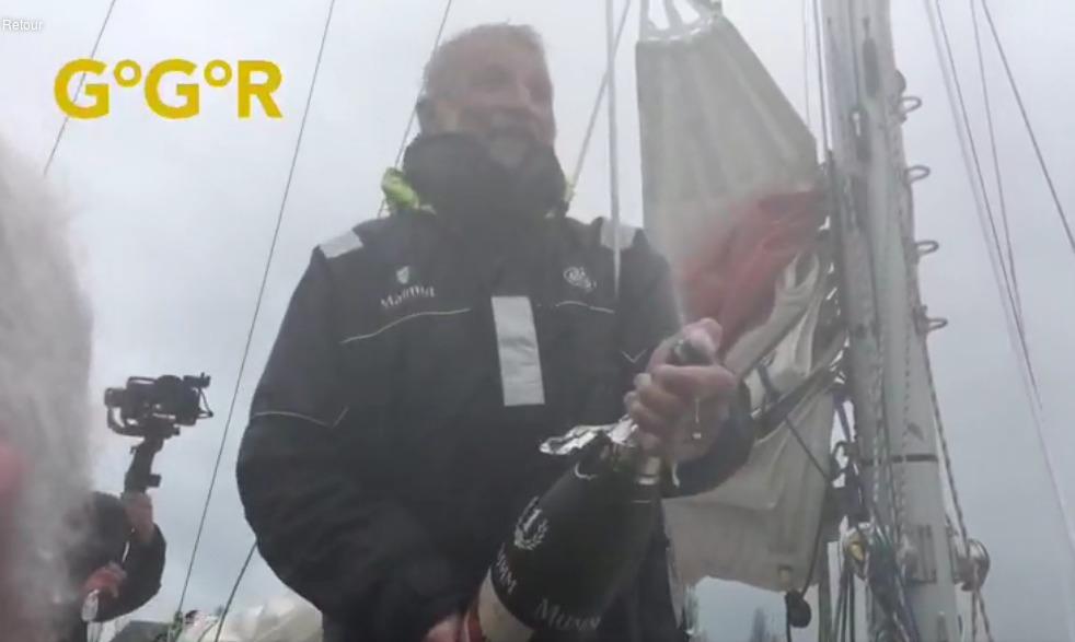 Jean Luc Van den Heede, légende, tour du monde à la voile, tour du monde en solo, yachting Classique