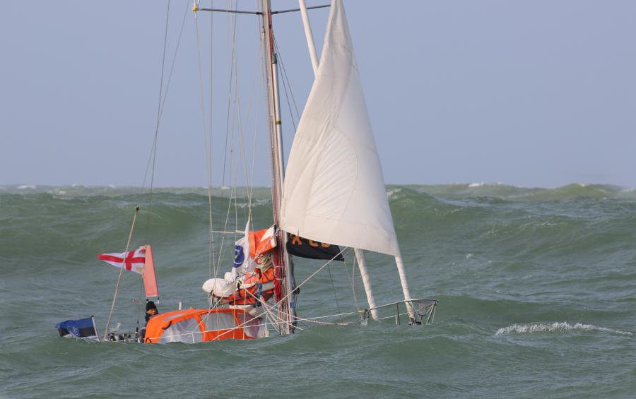 Rustler 36 Masthead sloop, Uku Randmaa, 3e Golden Globe Race