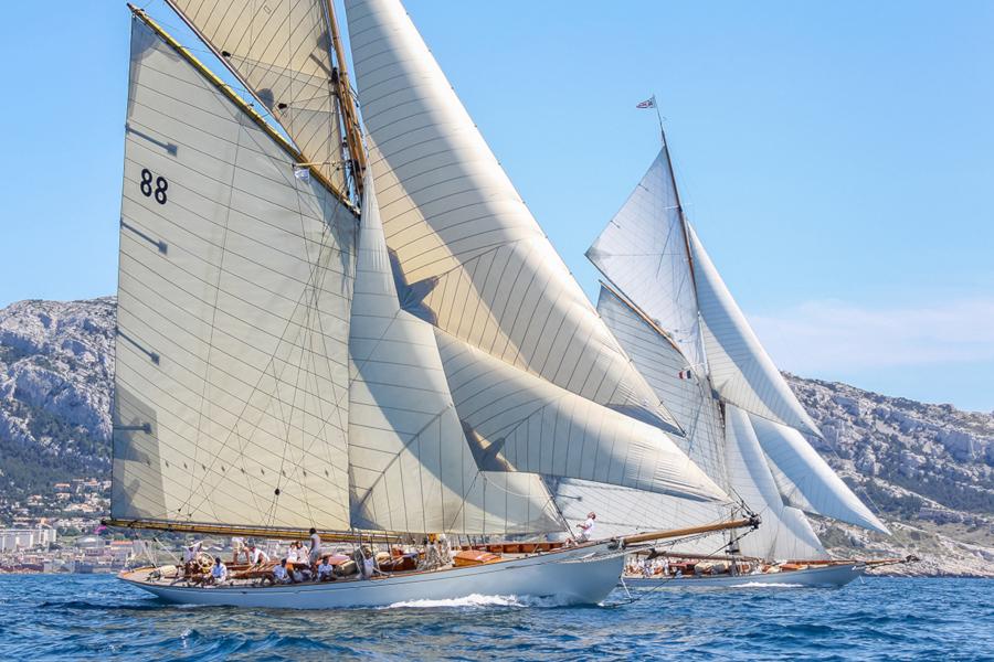 Voiles du Vieux-Port 2019, Marseille, Voiliers classiques