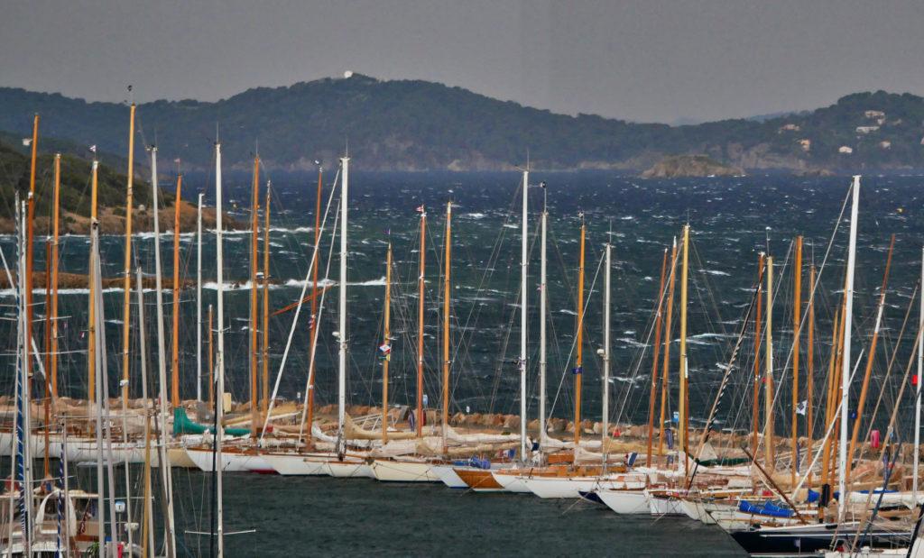 voiliers au port de Porquerolles, Porquerolle's Classic 2019