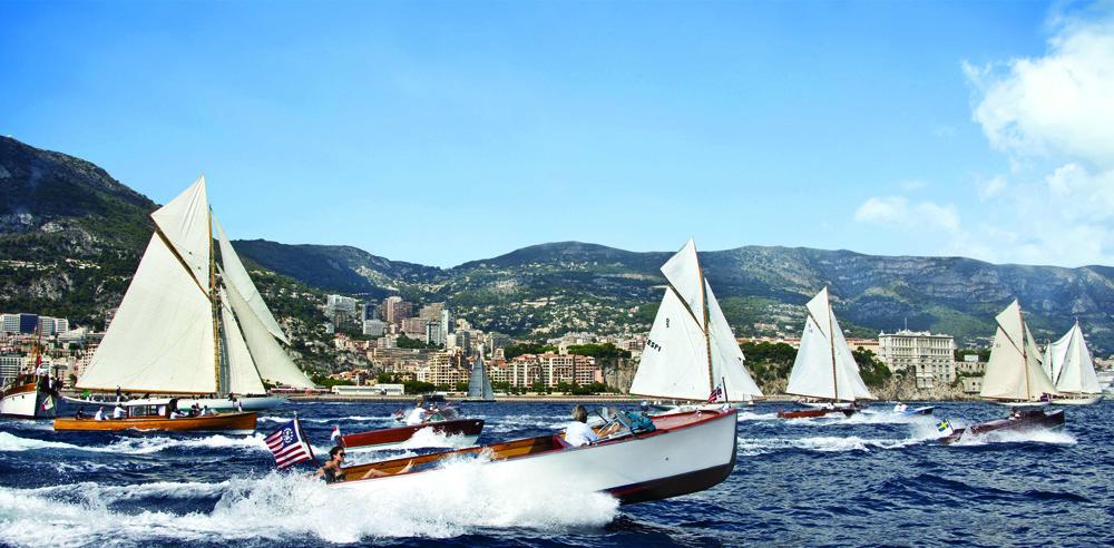 Canot  moteur classique Monaco Classic Week