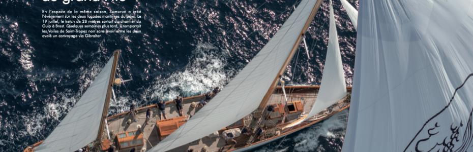 Sumurun, bateau de l'année de YACHTING Classique