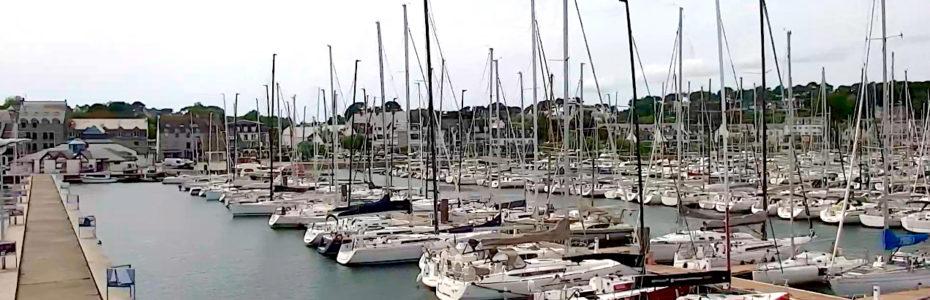 Port de la Trinité Sur Mer par Web Cam