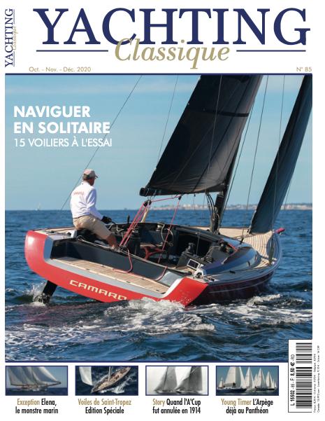 couverture Magazine YACHTING Classique 85, consacré aux 15 voilier pour naviguer en solitaire
