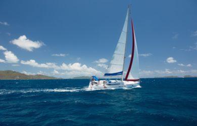 voilier monocoque Antilles