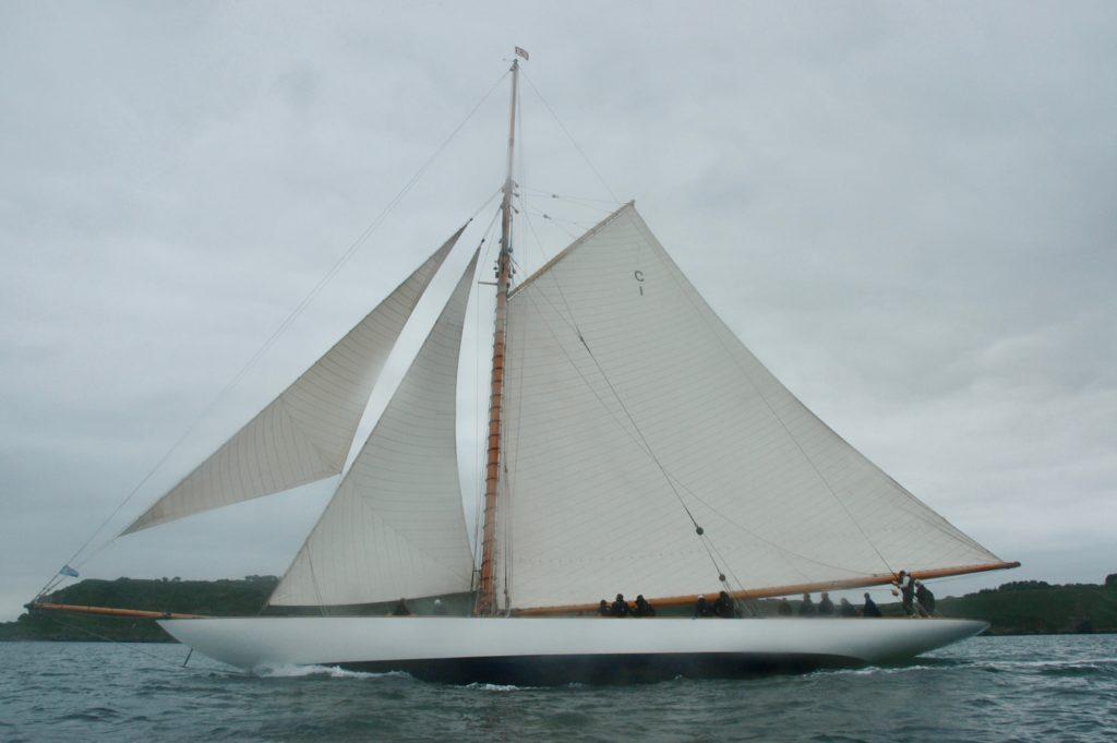 mariquita sous Voile, Breste 2021, Yahct Classique sous  voile, Plan fife, voilier de 1911, yachting classique