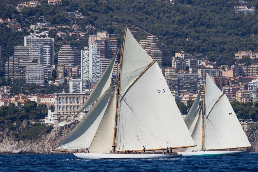 voilier classique, Monaco Classic week 2021. Yachting Classique