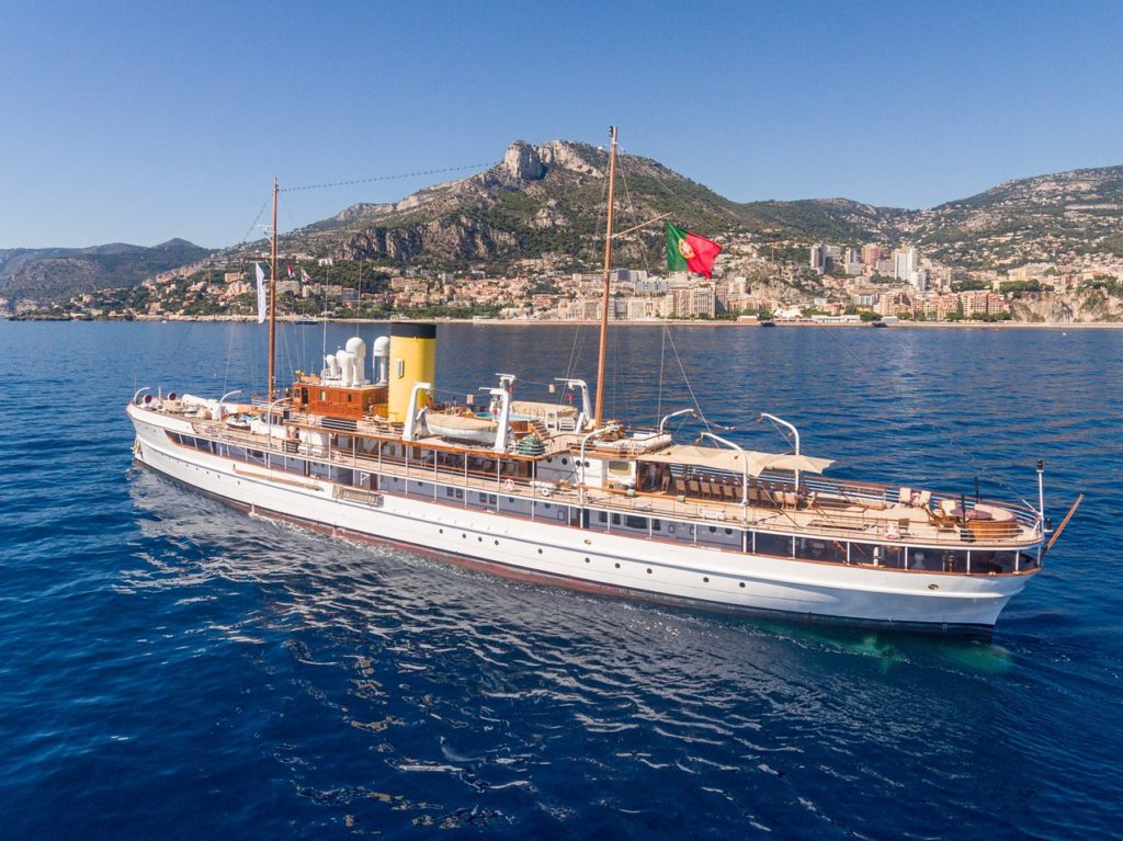 Motor yacht, monaco Classic Week, Yachting Classique